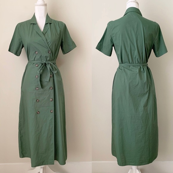 Urban Outfitters Dresses & Skirts - NWT Urban Outfitters green button up midi dress